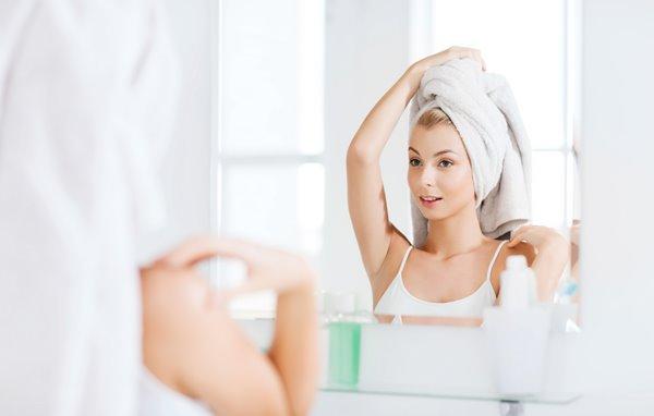 cura dei capelli beauty routine