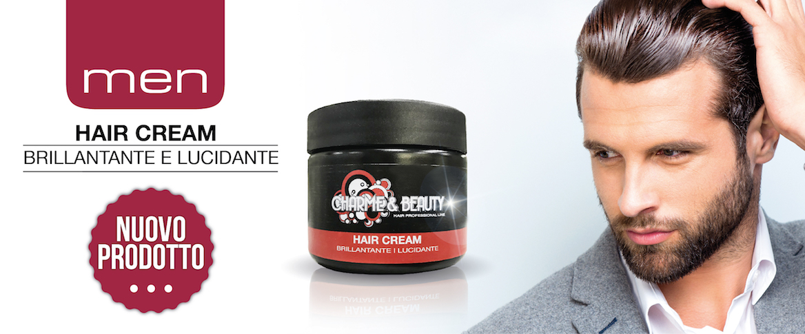 hair cream brillantina charme&BEAUTY
